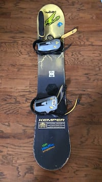 Gently Used Kemper Snowboard