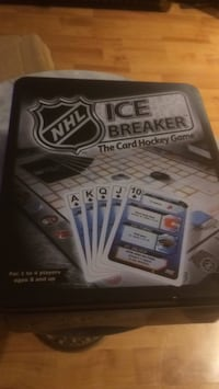 Ice breaker NHL card game Edmonton, T5T