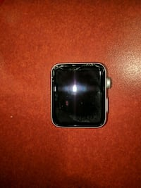 Series 3, 42 mm apple watch with cracked screen. Toronto, M5B 2L3