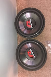 """12"""" Renegade RXV1202 subwoofers"""