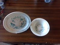 Original Cabbage Patch Plate and Bowl Set New Reduced Price. Now only $5