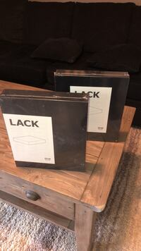 Ikea lack shelves $10 for both brand new never used still in package Surrey, V3S 5M7
