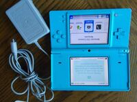 Nintendo DSi Aqua Blue Handheld System and Charger Whitchurch-Stouffville, L4A 0J5