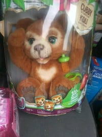 Fur real pets cubby the kolibear