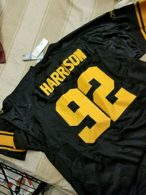 0f2b172d775 Used black and yellow NFL jersey for sale in Clifton - letgo