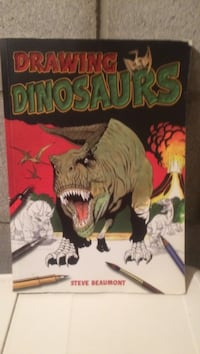 Drawing dinosaurs book