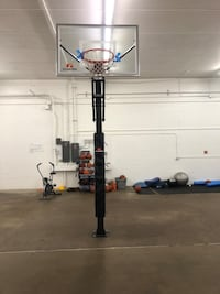 2 Basketball Goals & Weight equipments + Balls cones shooting machine