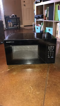 Black microwave 1000W Conway, 72034