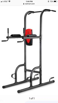 black and red exercise equipment Arlington, 22206