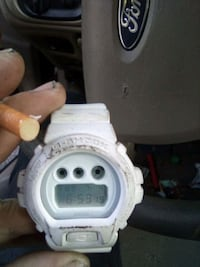 white Casio G-Shock digital watch Memphis, 38134