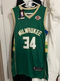 Milwaukee Bucks NBA Jersey