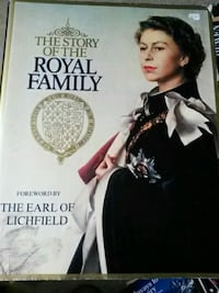 The Story of the  Royal Family Book Vaughan, L4J