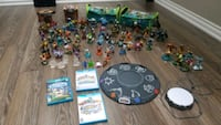Skylanders games, figurines and accessories