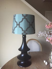 Black and white table lamp Bothell, 98021