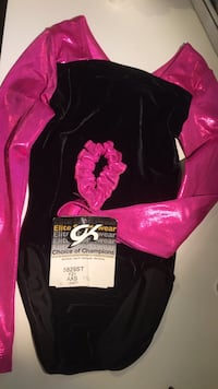 Pink and Black Gymnastic Leotard Brookeville, 20833