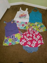 Lot of Girls Summer Clothes 24 Months Ellicott City, 21043