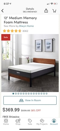 Single Size Brand New Memory Foam Mattress for sale Toronto, M2N 6H8