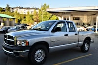Team West Auto Group 2004 Dodge Ram 1500 ST Quad Cab 2WD Clean ram pick up truck Coquitlam