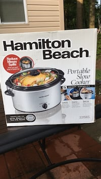 Hamilton Beach slow cooker 5 quart capacity