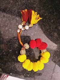 yellow and black beaded necklace Jaipur, 302039