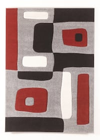 white, red, and black area rug Washington, 20019