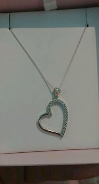 Heart shaped Micheal hill necklace