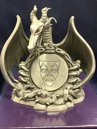 Pewter Maleficient Disney Dragon - Signed Limited Edition Hopewell Junction