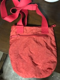 pink leather 2-way handbag Rogers, 72756