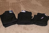 Black National Patrol Mens Security Polyester/Twill Pants Size 38R Clinton, 20735