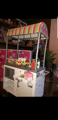 American Girl Doll Campus Snack Cart