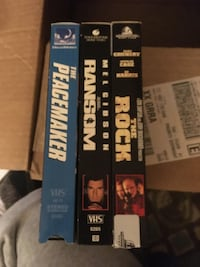 3 VHS action movies Kentwood