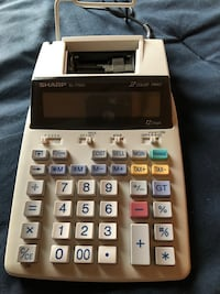 white and black Casio desk calculator Corpus Christi, 78410