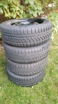 Hankook Icebear winter tires 195 65 15 with rims Mississauga, L5M 3C5