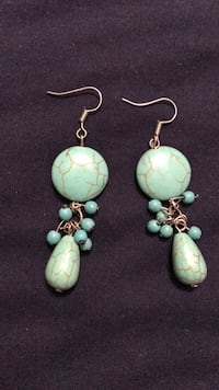Blue stone earrings Smyrna, 37167