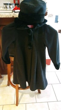 Black coat size 6