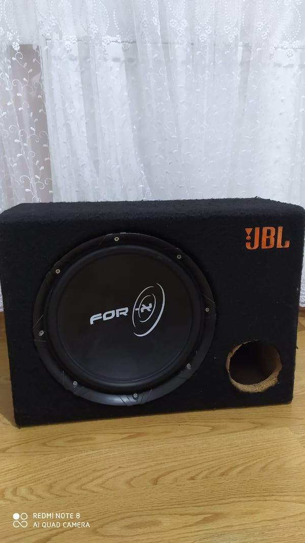FOR-X KABİNLİ SUBWOOFER 300 RMS! 0