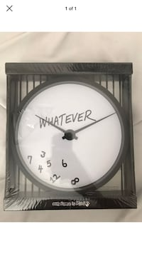 """Whatever"" Clock"