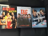 Three Hilarious New DVDS Blockers,Tag,and Game Night Niles, 49120