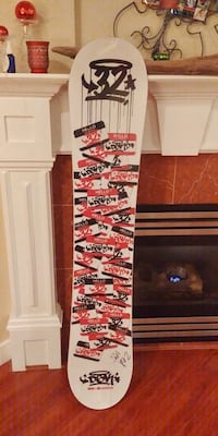 Dgk x 32, dirty two 155 snowboard