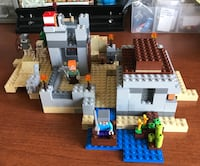 Lego (21121) Minecraft The Desert Outpost Durham, 06422