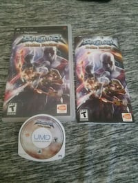 PSP game and booklet Las Vegas, 89129