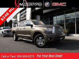2012 Toyota Tundra 4WD Truck LTD pickup Gray
