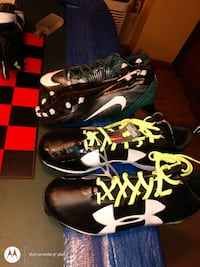 Size 14 soccer or football cleats. brand new never used.