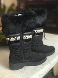 Coach New Winter Waterproof Boots Size 6 Linden, 07036