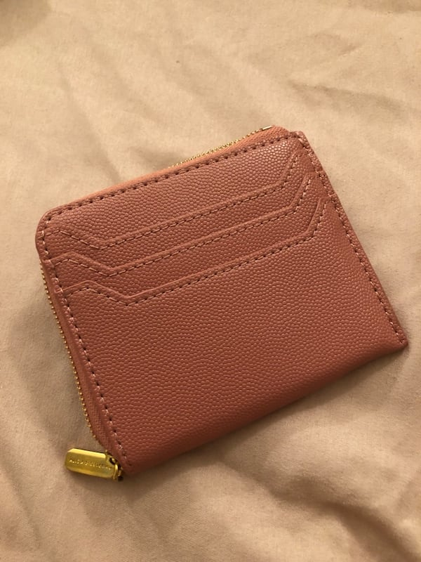 Charles & Keith Rose Casual Zip Pouch Wallet 2