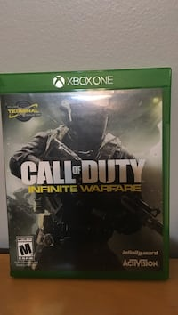 Call of duty infinite warfare xbox one game great condition. Edmonton