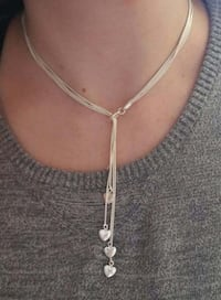 silver-colored and brown pendant necklace Edmonton, T5L 4G7