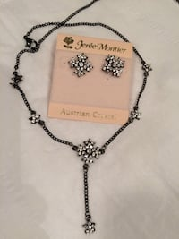 REDUCED! GIFT IDEAS!  Austrian Crystal necklace set Richmond, V6X