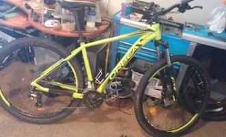 Barely used Orbea hardtail mountain bike