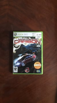 Xbox 360 Need for Speed ​​Carbon spelväska Gothenburg